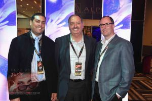 (L-R) Eddie Suqi, Chuck Rolling and John Miller of Penthouse Clubs/Kirkendoll Management