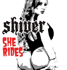 Shiver She Rides Cover art ft richelle Ryan