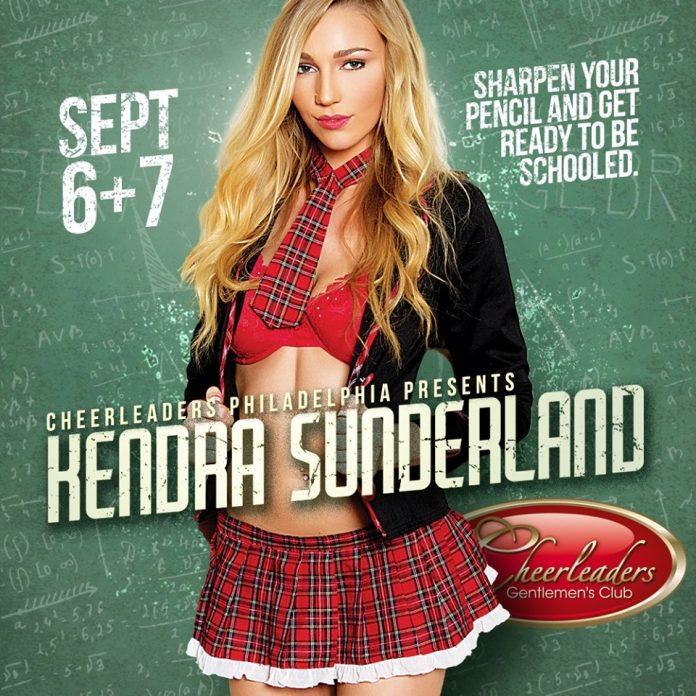 Kendra Sunderland Cheerleaders Philly