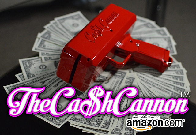 The Original Cash Cannon