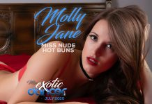 Molly Jane Miss Exotic Dancer - July 2020