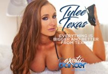Tylee Texas Miss Exotic Dancer - June 2020