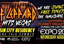 Def Leppard @ EXPO 2019 - FREE TICKETS