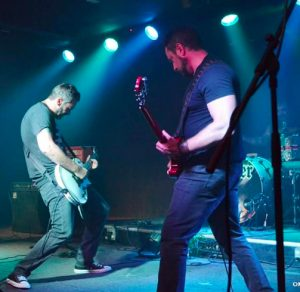 Shiver hitting it's stride Manack (L) and lead guitarist Jay LeVine