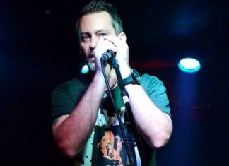 Dave Manack of the band Shiver